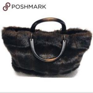 Isabella's journey Faux mink Fur Purse